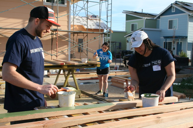 United Way Habitat Build