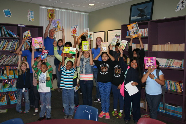 Intel Folsom donates books to Boys and Girls Clubs of Greater Sacramento
