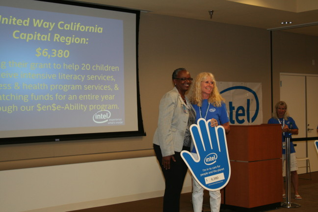 Intel honors United Way at its Intel Involved Celebration