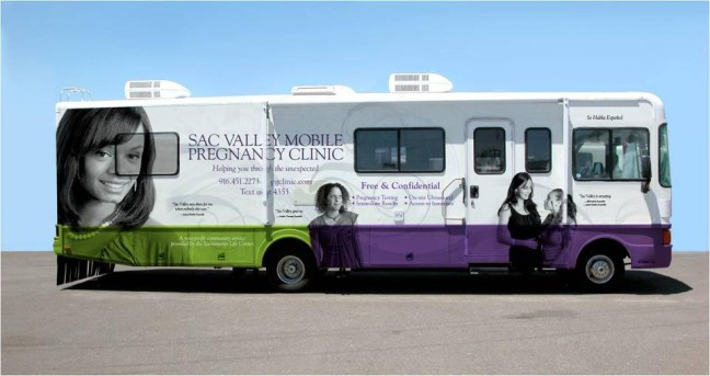 Sacramento Life Center's Mobile Medical Clinic