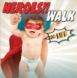 Sacramento Life Center's Heroes Walk for Life